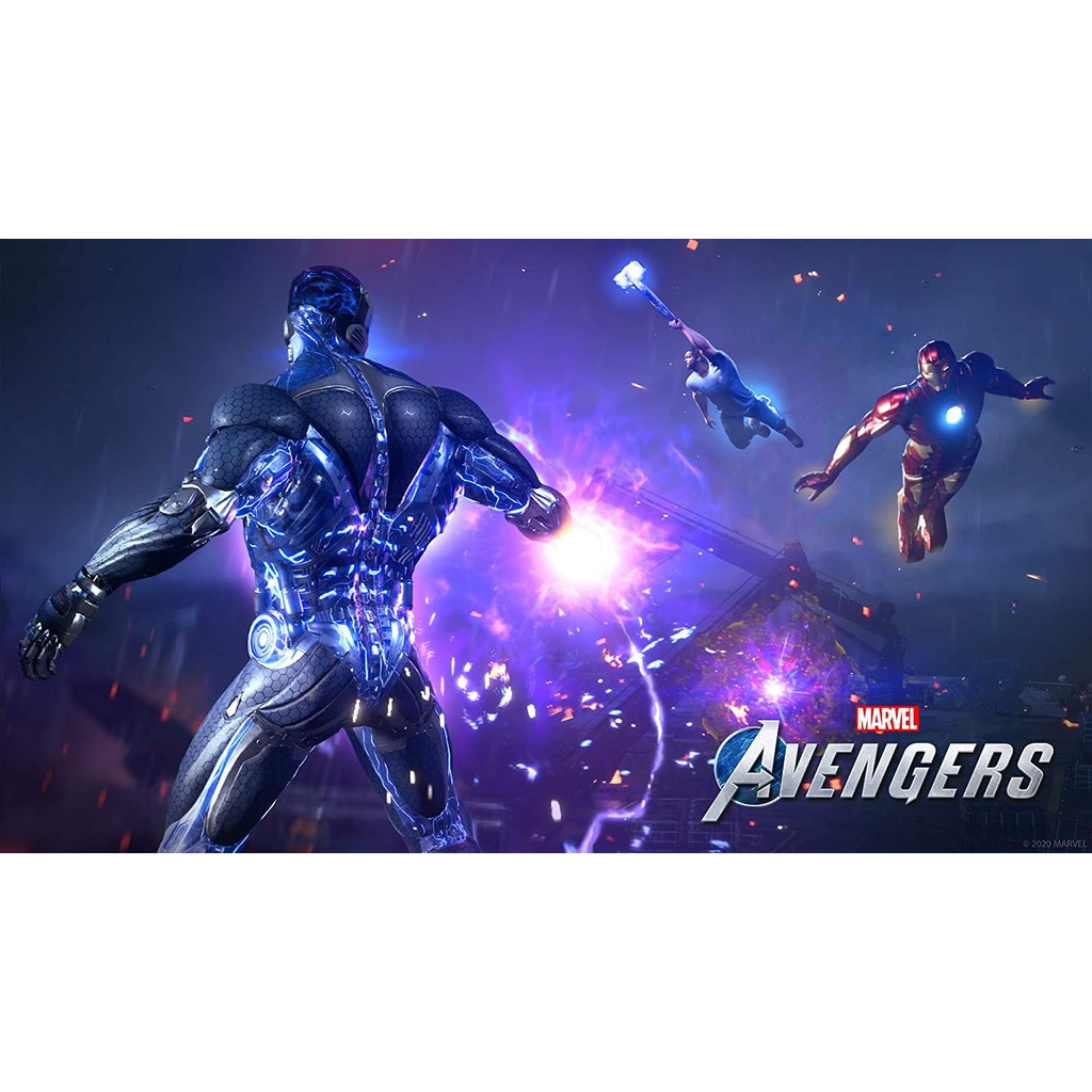 PS4 Marvel's Avengers: Deluxe Edition (R3/ENG)