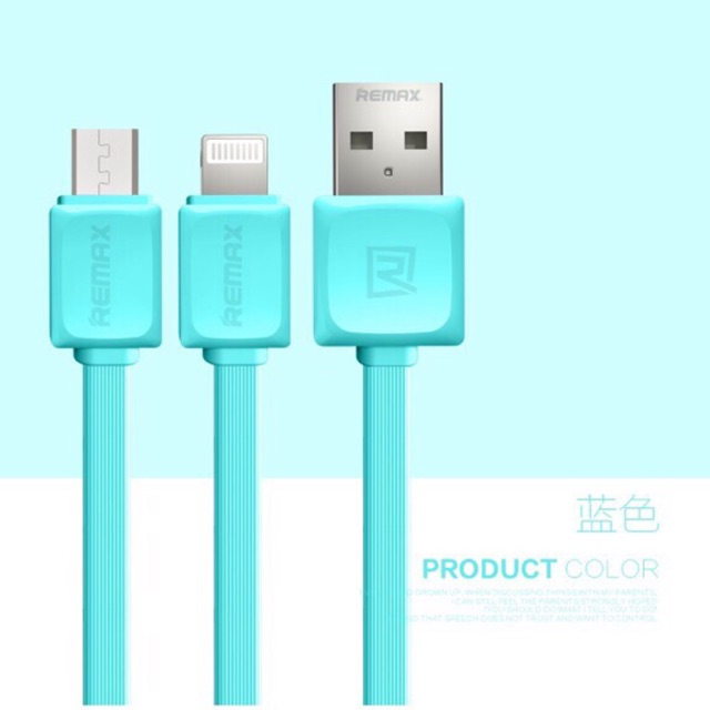 Original Remax Fast Data Cable for Micro USB and iPhone | Shopee Malaysia