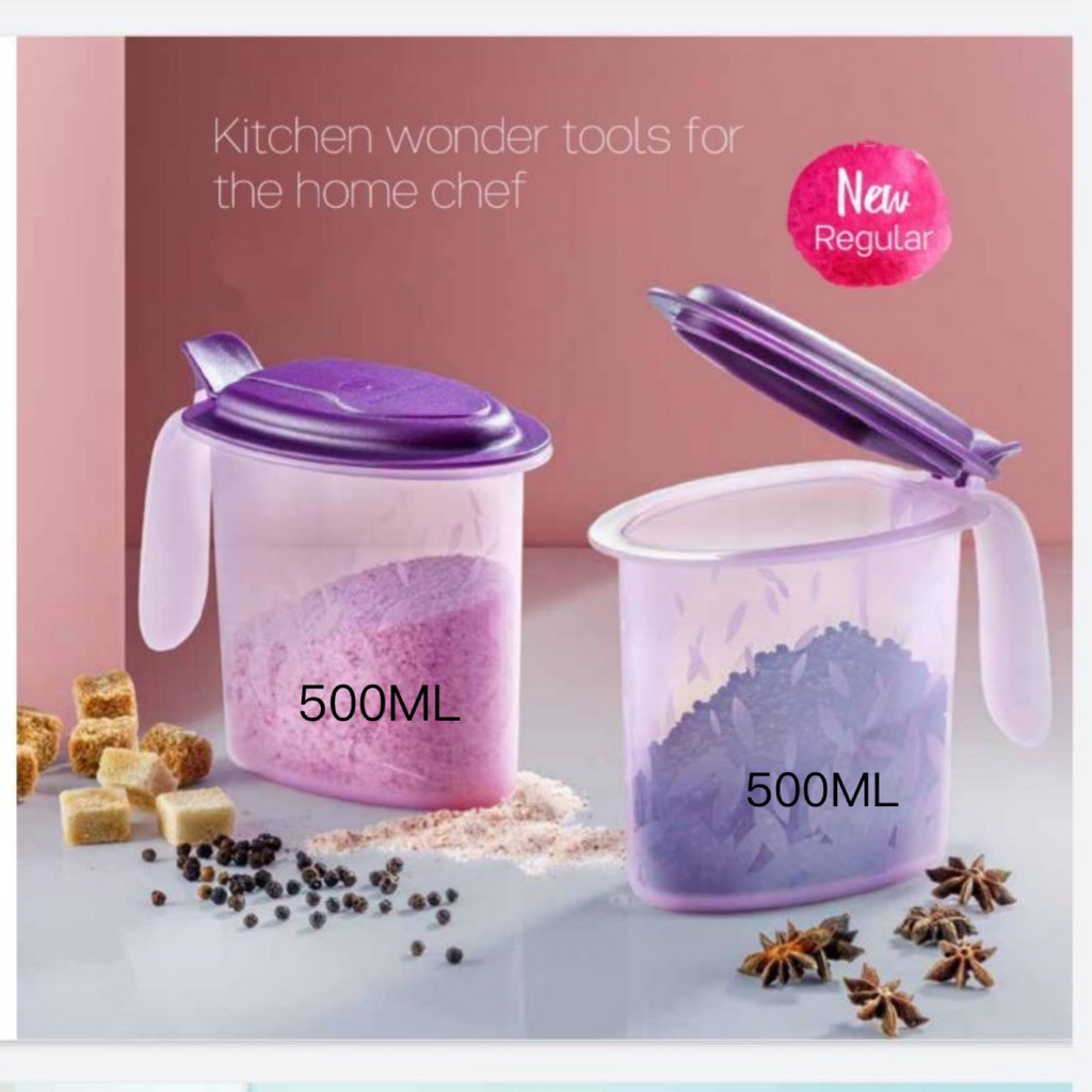 🔥Tupperware Salt N Spice Set 500ml (2 PCS)