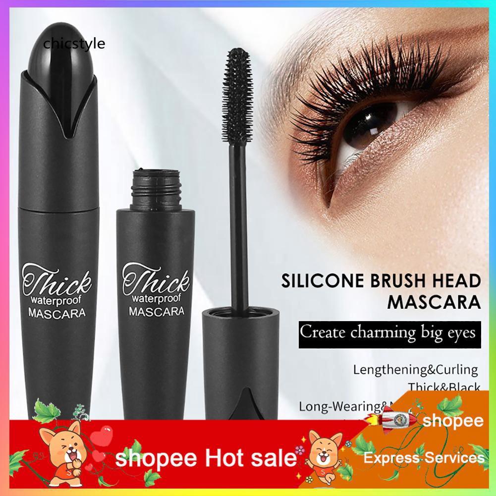 ✥✥✥Waterproof Long Lasting Non-smudge Mascara Curly Thick Eyelash Extension Makeup