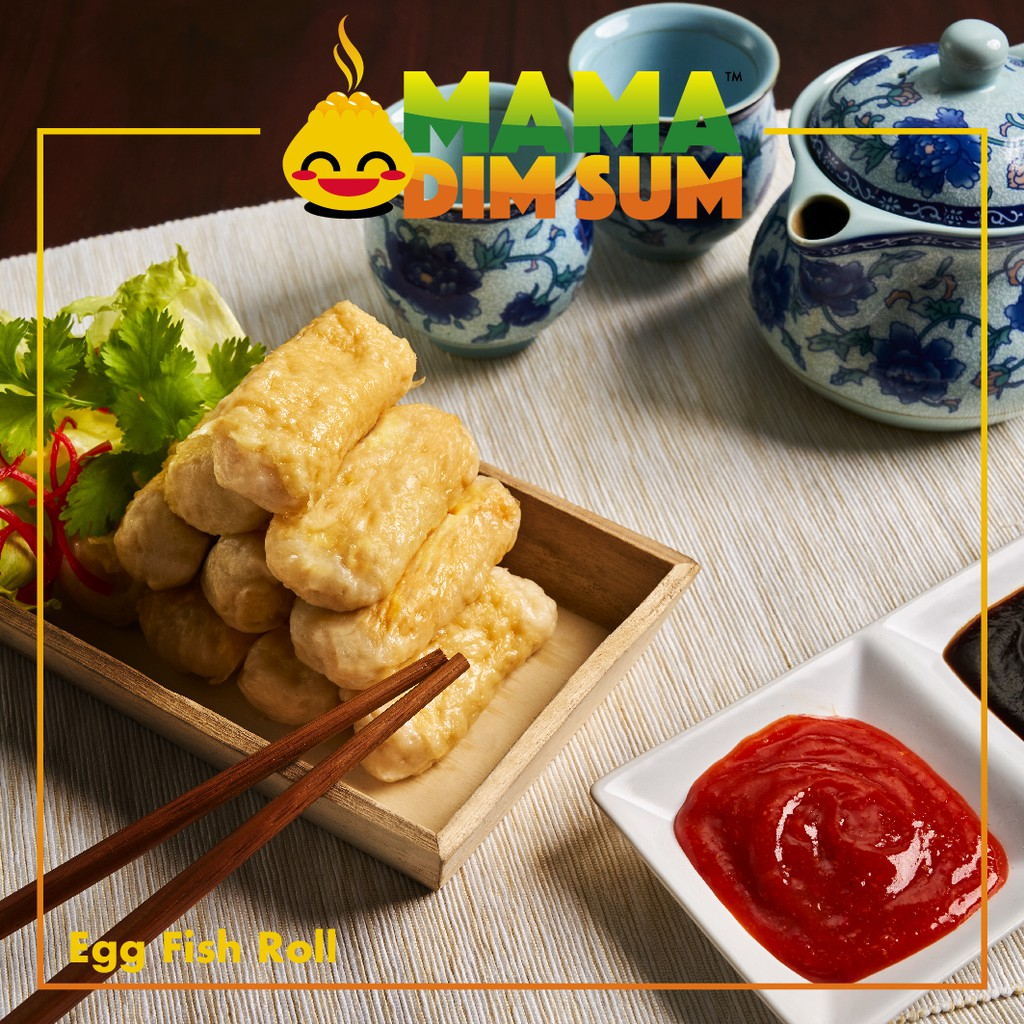 (D026) Egg Fish Roll (10pcs/pack)