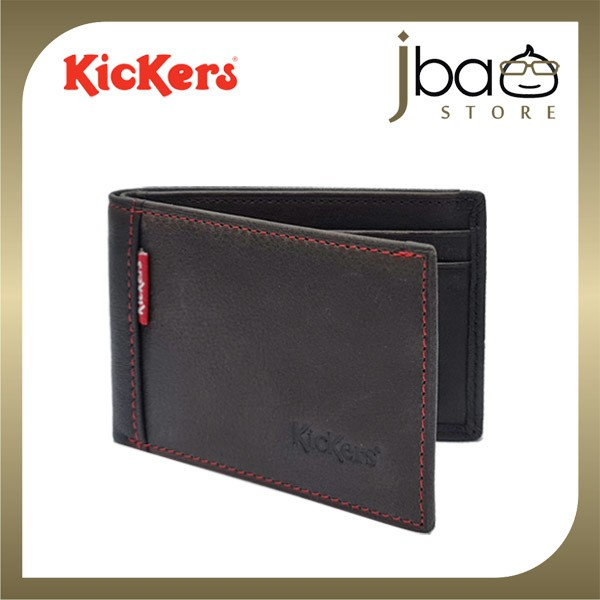 Kickers KIC88493C Leather Card Holder Mini Pocket Wallet (Small)