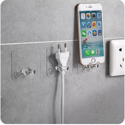 10pcs Power Plug Holder Socket Hook Hanger