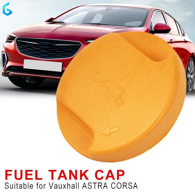 Auto Oil Filler Cap Car Oil Filler Cap Durable Yellow Replacement