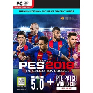 PC Game] Pro Evolution Soccer / PES 2018 + PTE Patch World