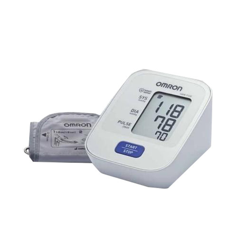 Omron Automatic Blood Pressure Monitor HEM 7120 + FREE GIFT
