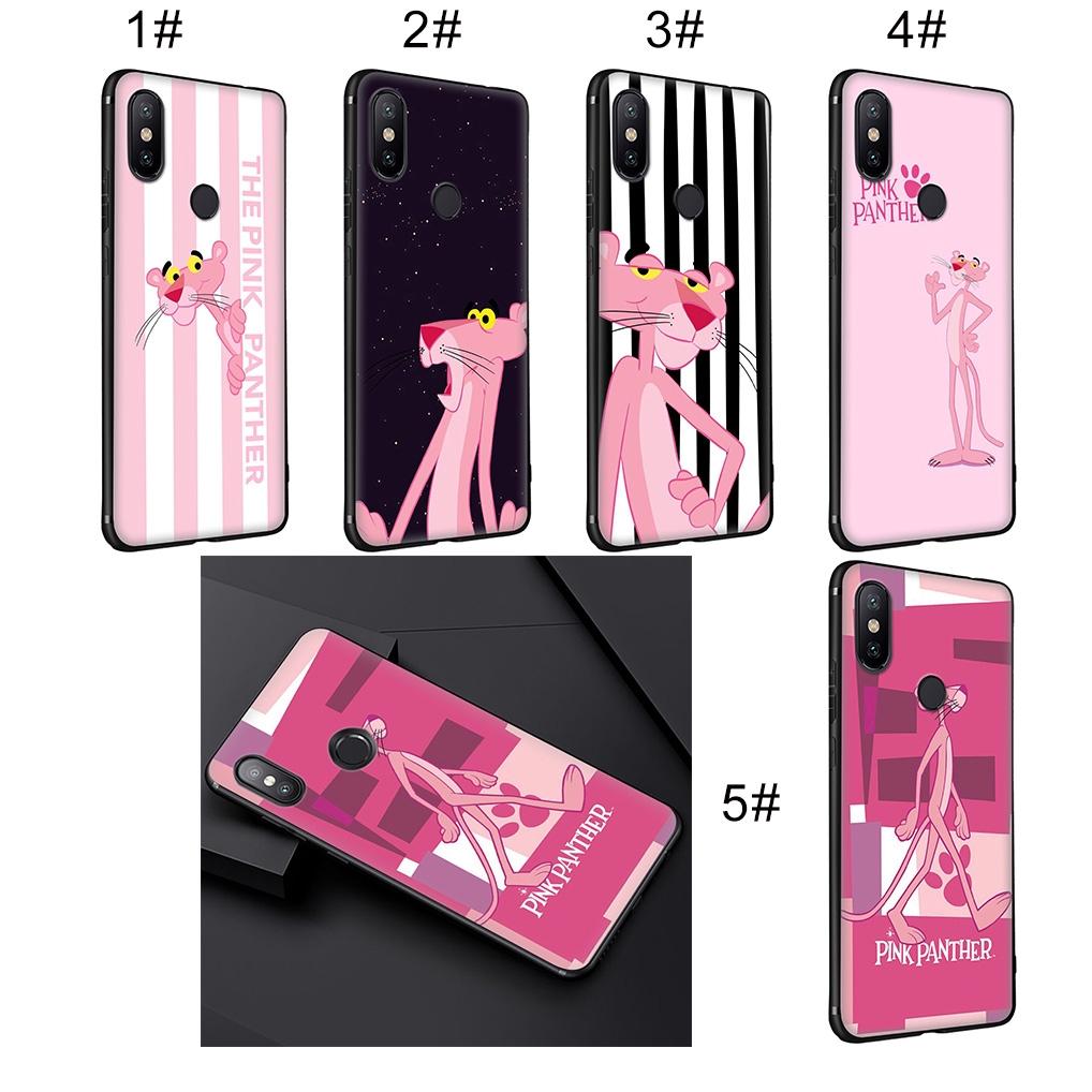 XiaoMi Redmi 6A 6 5 5A 4X 4A Pro Plus Soft Case Pink Panther