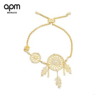 21403a268 APM Monaco Gold Silver Diamond Diamond Dreamcatcher Bracelet Fashion Silver