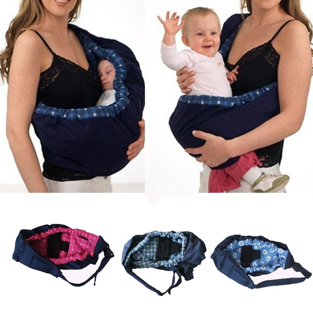 Baby Sling Carrier Infant Toddler Newborn Adjustable Nursing Cradle Pouch Wrap