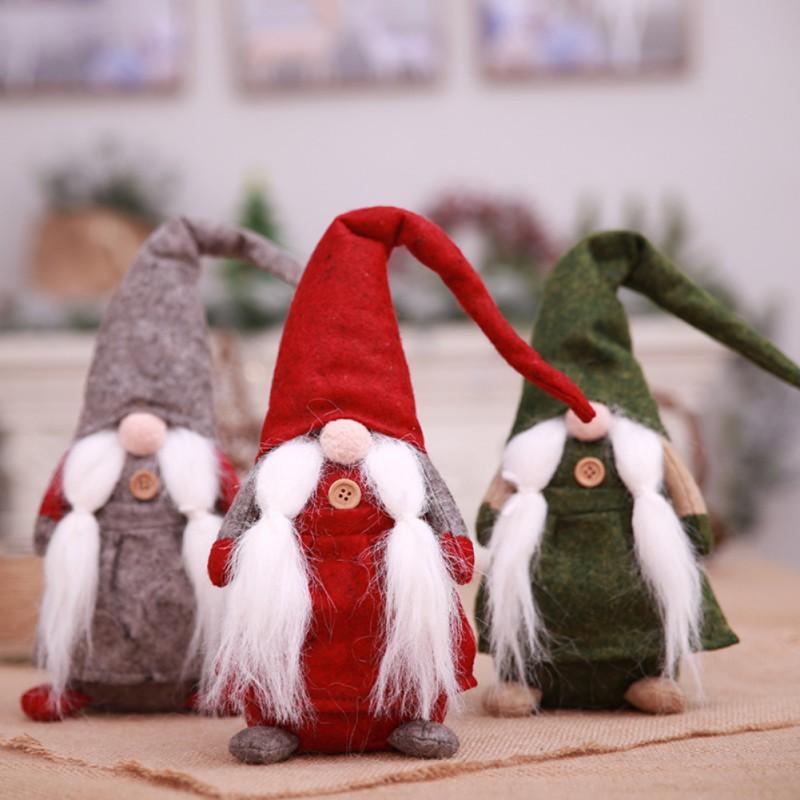 Christmas Gnome Decor.Christmas Gnome Decoration Handmade Swedish Santa Holiday Decor Ornament 16 New