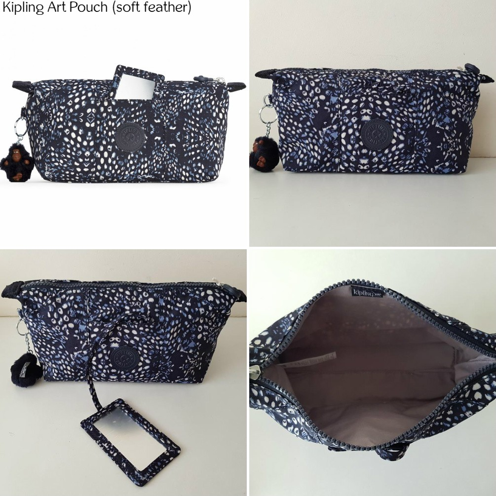 4401a364d1 NWT Authentic Kipling Art Pouch with Mirror Compartment Toiletry Bag Makeup  Case | Shopee Malaysia