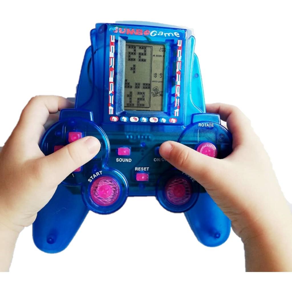 CLASSIC JUMBO BRICK GAME Electronic Tetris Brick Game Handheld Game Classic Game LCD Game Toy with sound A1und a