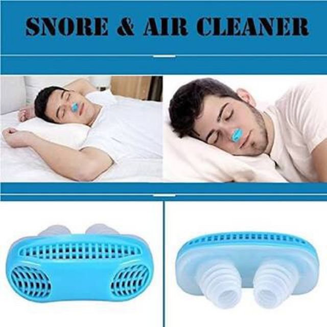 2 in 1 anti snoring and air purifier ที่สวม 2 อิน 1 แห้นอนกรนและกรอง