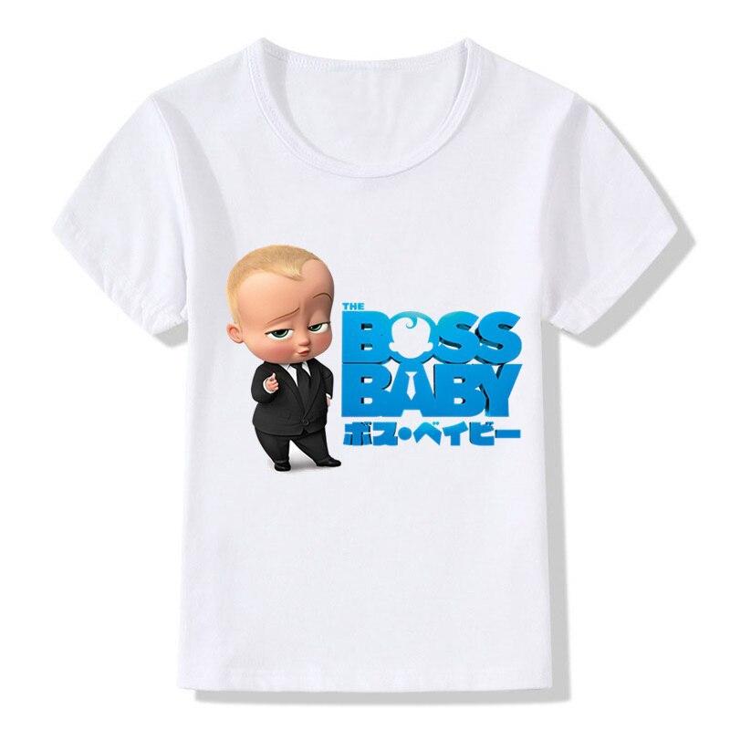 Boss Baby Girls Short Sleeve Shirt Clothing