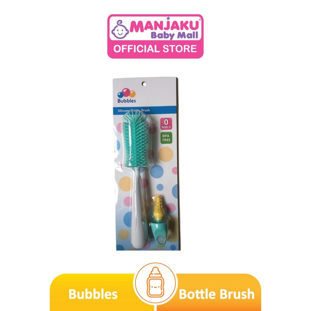 Bubbles Silicone Bottle Brush