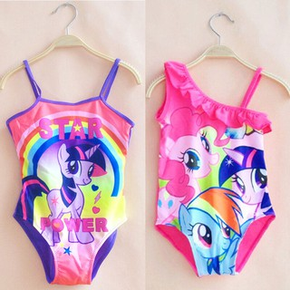 8eb5707dc1 Kids Girls Cartoon Swimwear Swimsuit Strappy Swimming Costume Bathing Suit  | Shopee Malaysia