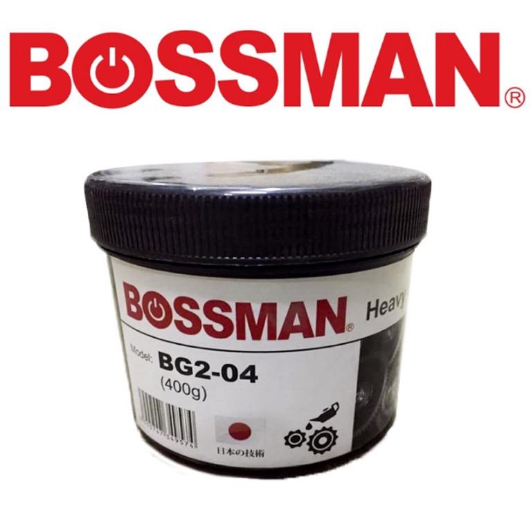 READY STOCK !BOSSMAN BG2-04 HEAVY GRASE 70DEG.C 400G