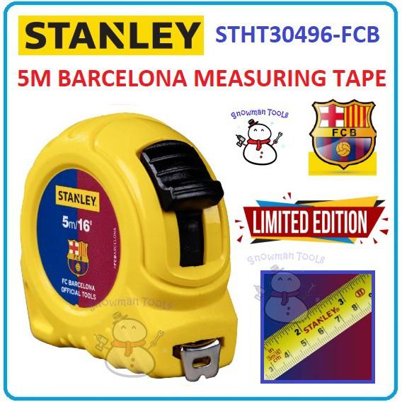 [LIMITED EDITION!!] STANLEY STHT30496-FCB GLOBAL MEASURING TAPE 5M FC BARCELONA MEASURE RULER LENGTH STHT30496 30496