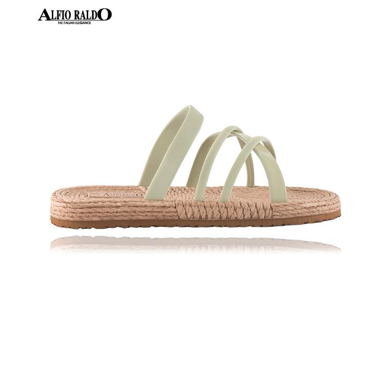 Alfio Raldo Easy Wear Open Toe Green Sandal