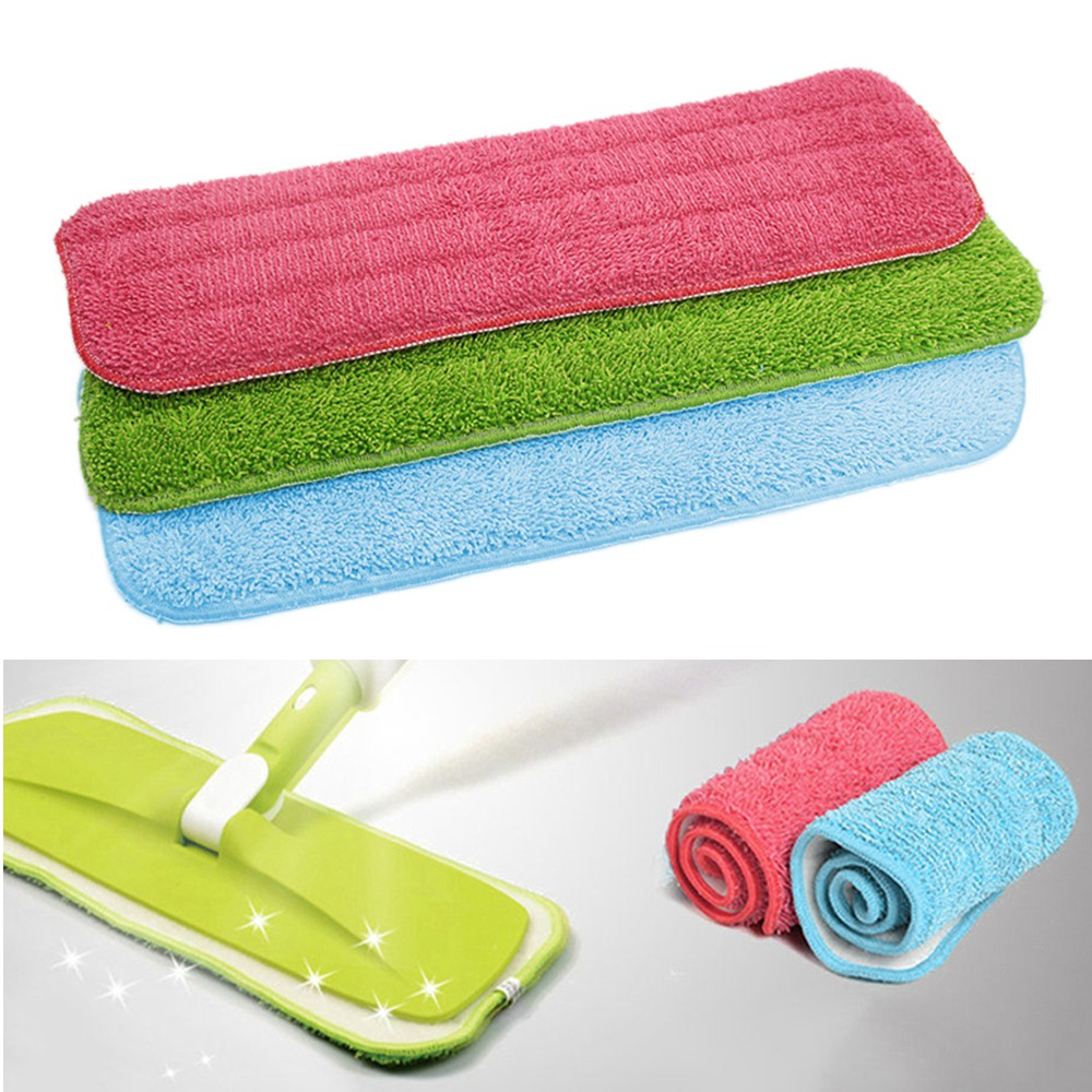 Household mop cleaning pad Dust Cleaning Reusable Microfiber Pad KNTR