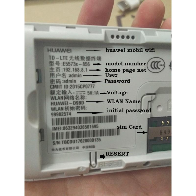 Huawei E5573 Dongle Wifi Router E5573S-856 Mobile Hotspot Wireless 4G LTE