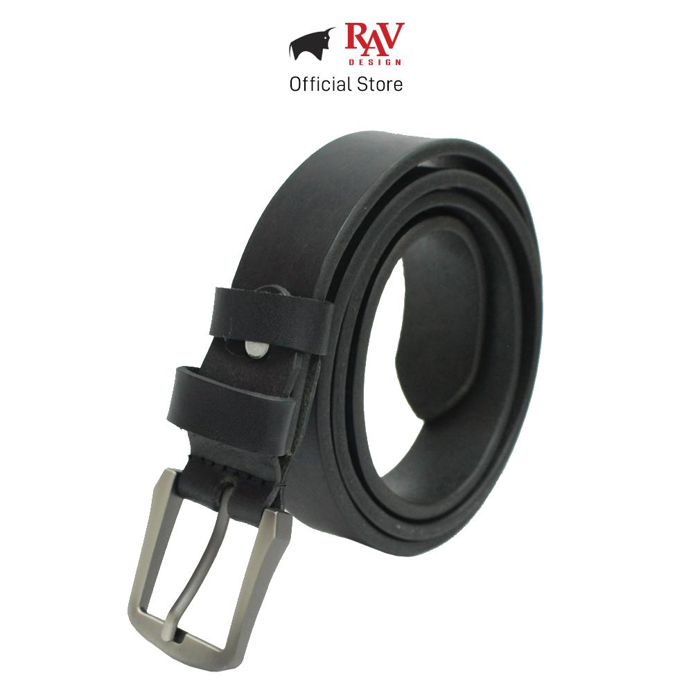 Rav Design 100% Genuine Cow Italy Leather 30MM Pin Buckle Belt Series |RVB595G1