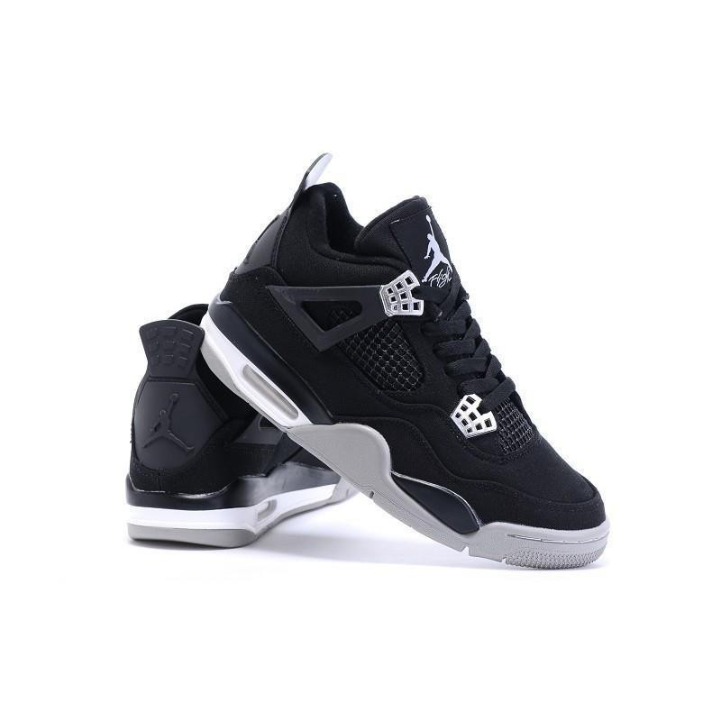 Leer mero barro  JS> Nike Eminem x Carhartt x Air Jordan 4 Canvas In Black Gray ...