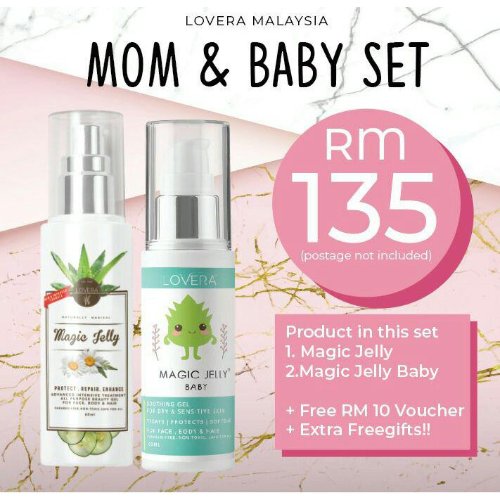 Mom & Baby Combo Lovera Magic Jelly