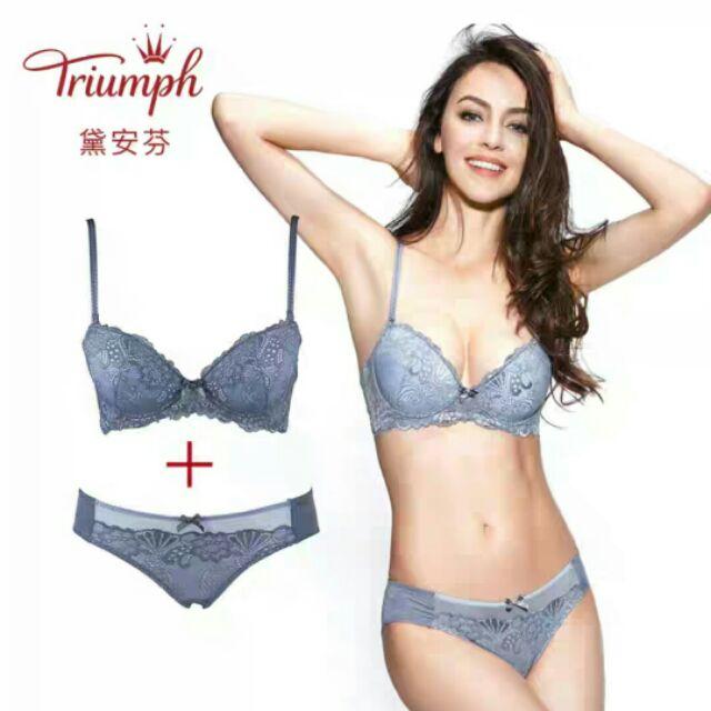 a533f434e8b0 Bra Triumph sexy lace underwear Bra E002469 | Shopee Malaysia
