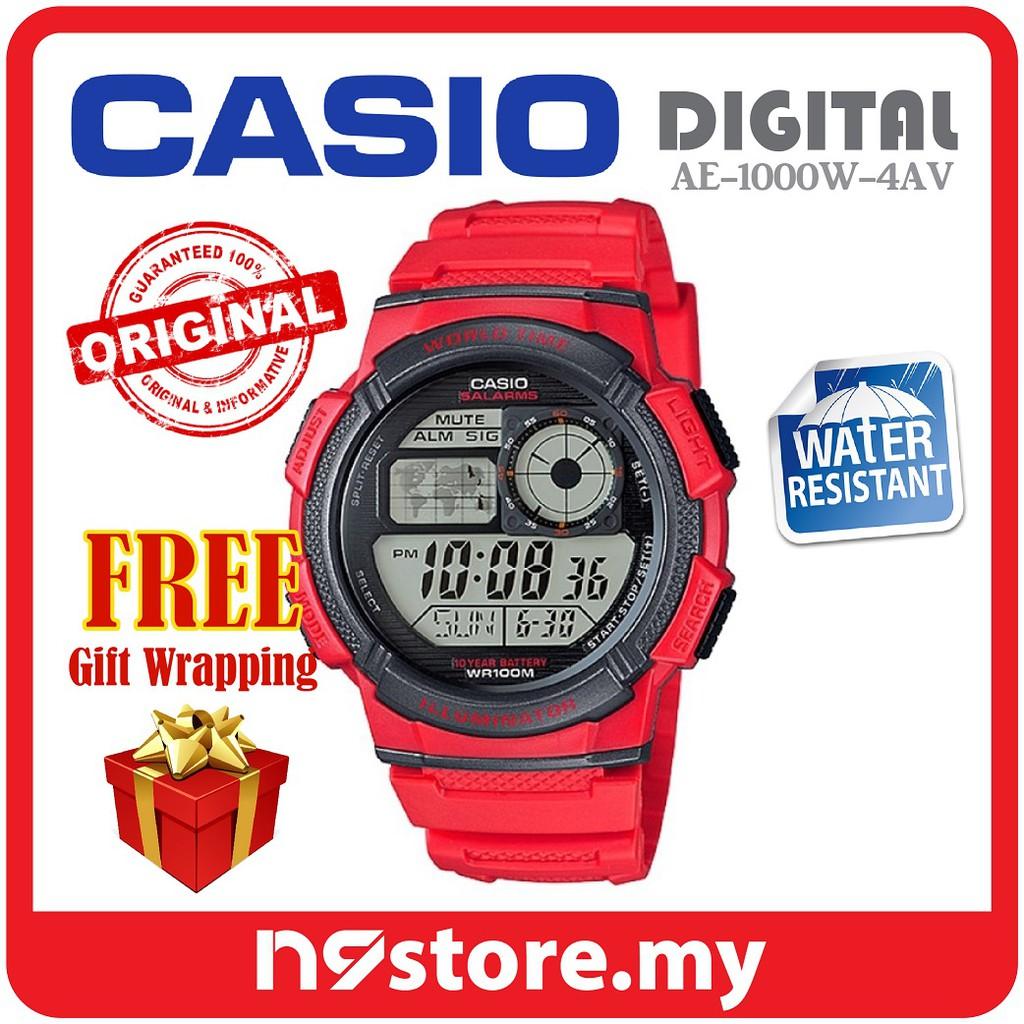 CASIO BABY G BGD560 RED  fb5645a42e