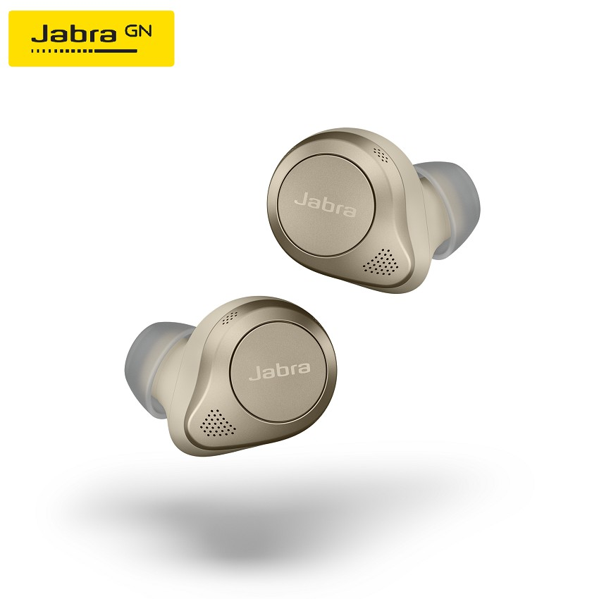 Jabra Elite 85t Gold Beige True Wireless Earbuds - Jabra Advanced ANC™ with Long Battery Life