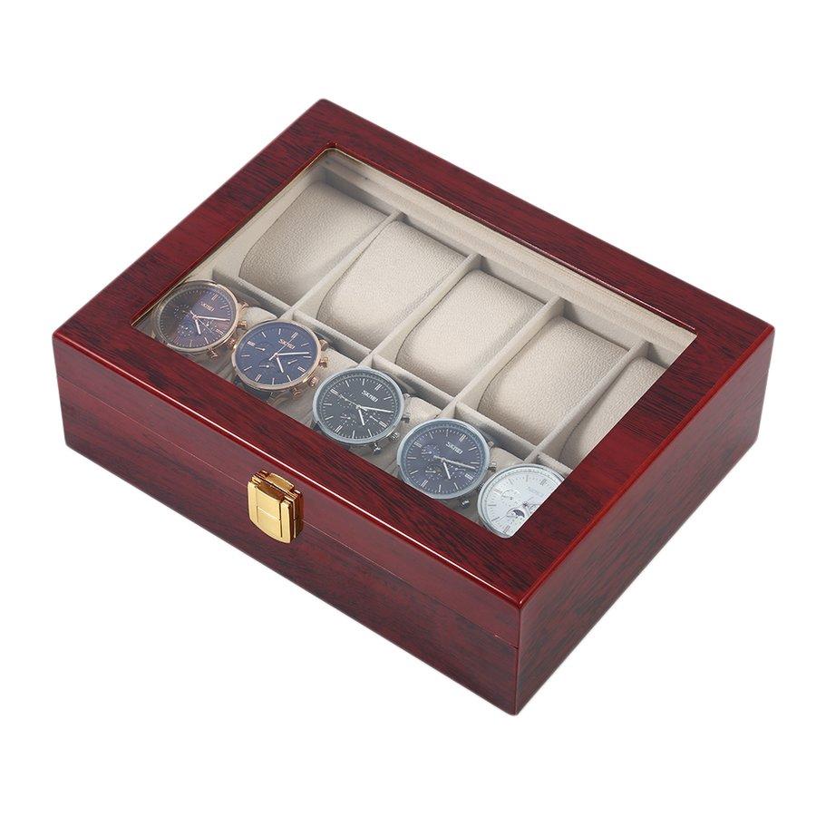 0374b7901 ☆12 Slots Jewelry Display Watch Box Storage Holder Glass Window Top  Organizer | Shopee Malaysia