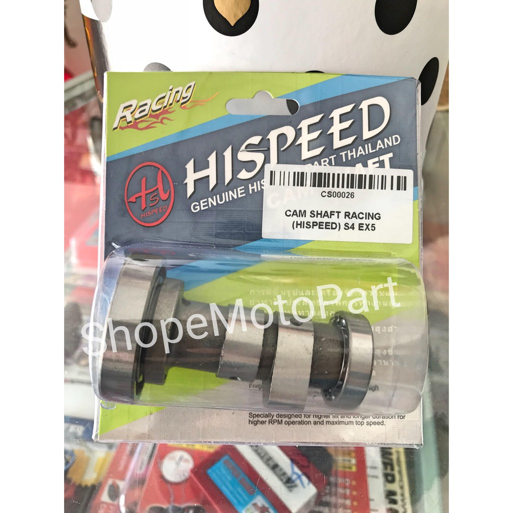 CAMSHAFT CAM SHAFT RACING HISPEED HI SPEED THAI HONDA Ex5 WAVE KRISS ESPADA  UMA