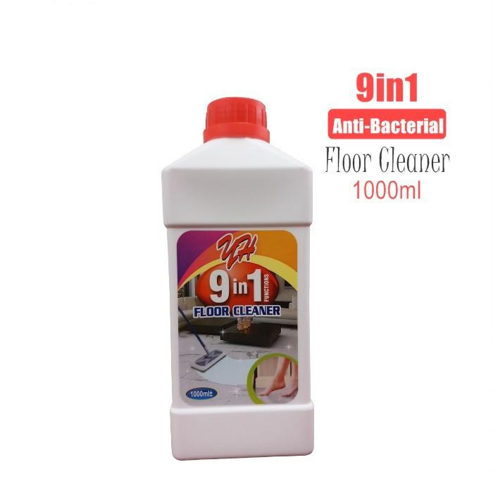 9 in 1 Anti-Bacterial Floor Cleaner 1000ml / Pembersih Lantai Berkonsentrasi Anti-Bakteria
