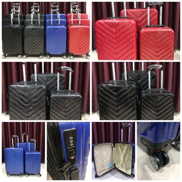 กระเป๋าเดินทางล้อลากขนาด 20 - 28