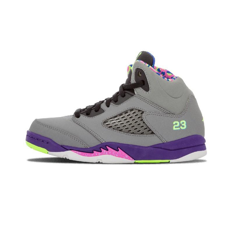 brand new cece1 daaae Jordan Retro 5 Men Basketball shoes suede Space Jam Metallic Silver Take  Flight