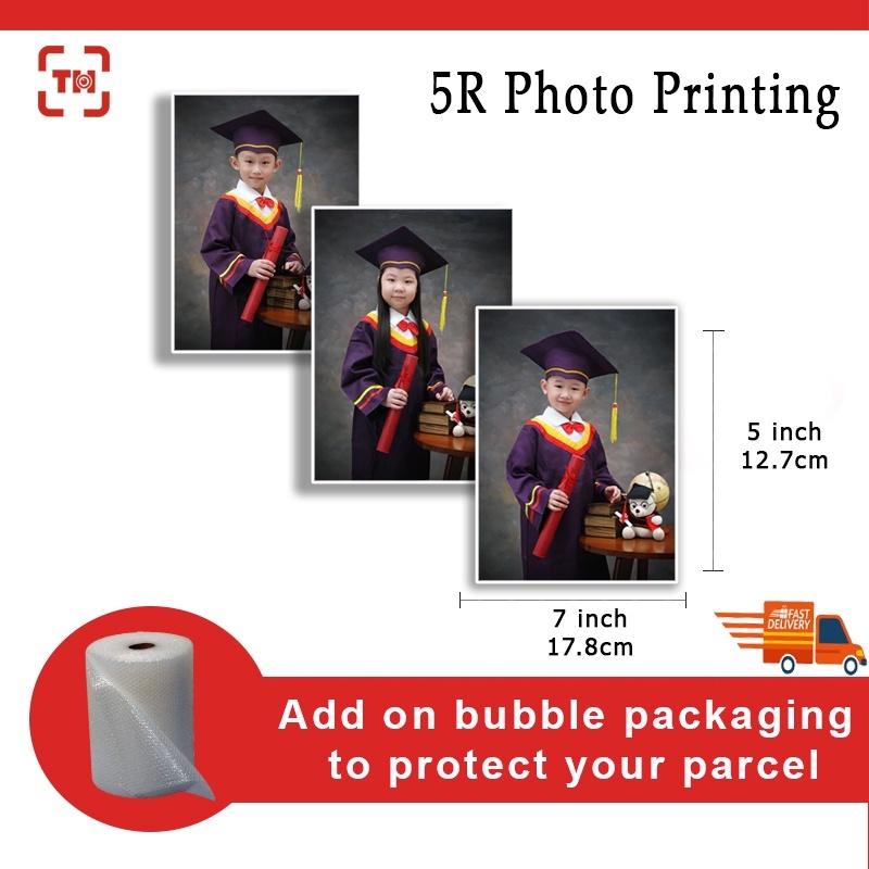 5R(5x7 inch) High Quality Photo Printing (Glossy/Matt)/Digital photo printing