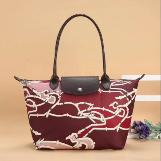745eb5f7a8e2 2018New longchamp collection butterfly long handle shouder tote mum bag(m  and l)
