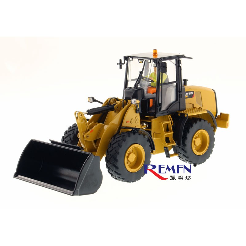DM CAT Caterpillar 910K wheel loader forklift model 1:32 simulation  engineering