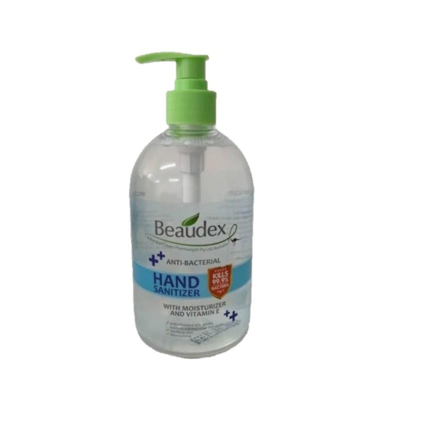 Beaudex Hand Sanitizer 500ml - MOH Approved Sanitising Gel