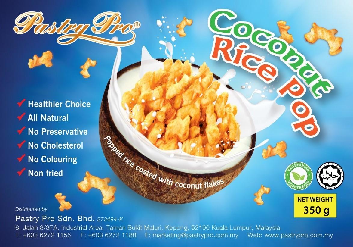 Coconut Rice Pop, 350g