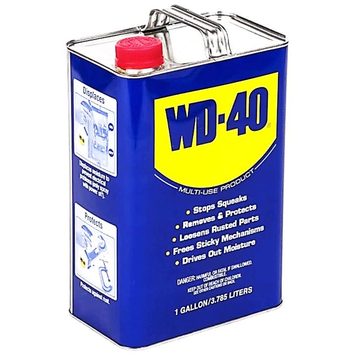 WD-40 Multi-Use Product Anti Rust Lubricant Spray 1 Gallon (3785mL)