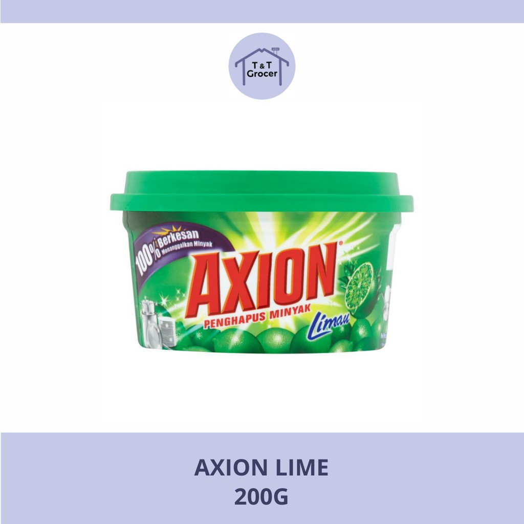 Axion Dishwashing Paste (200g, 350g, 750g)