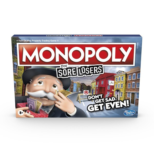 Hasbro Monopoly Game: For Sore Losers Edition