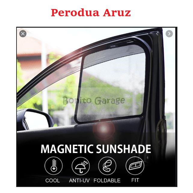 Magnetic Sunshade Perodua Aruz 6pcs