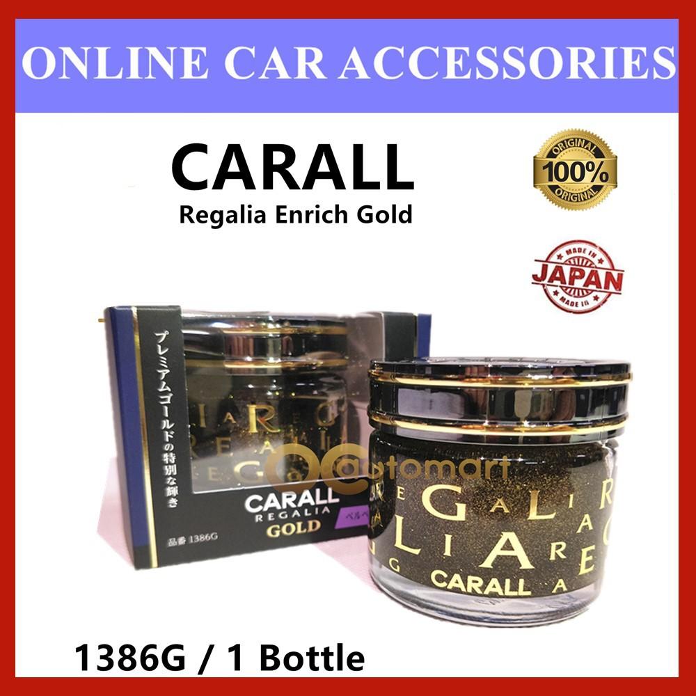 Original CARALL Regalia Enrich Velvet Musk GOLD Series / 1386G Air Refreshener 65ml (Special Edition)( Made in Japan)