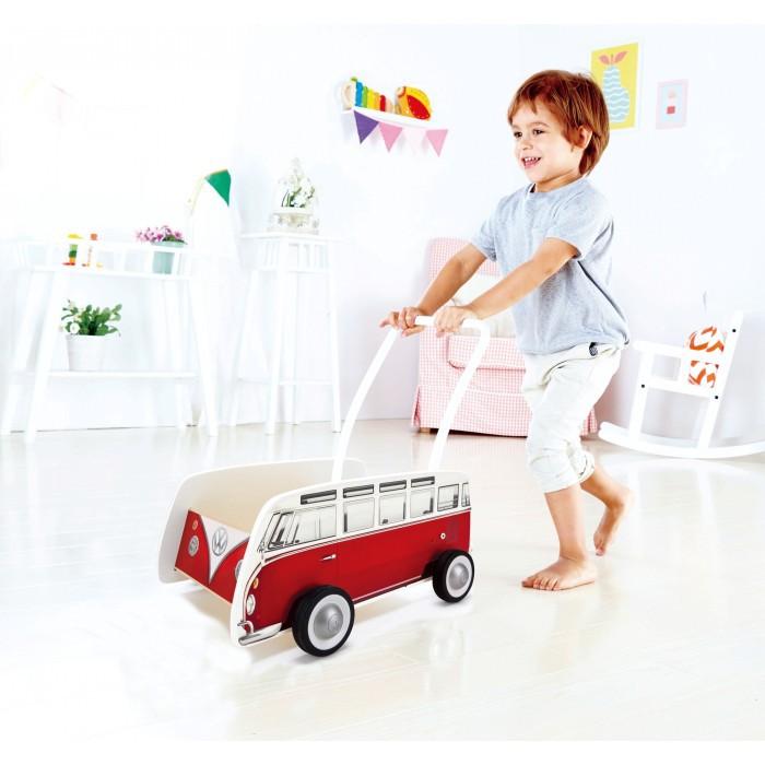 Wooden Walker Classical VW Camper Bus T1 Preschool Early Learning Toddler NEW