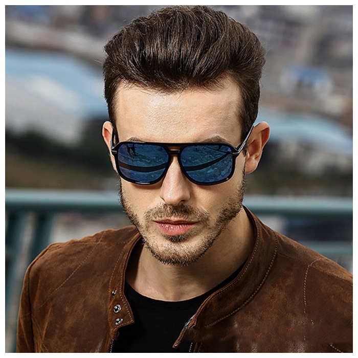 AORON Polarized Sunglasses Men and Women Outdoor Driving Men Goggle UV400 Protection Unisex Retro Sun Glasses
