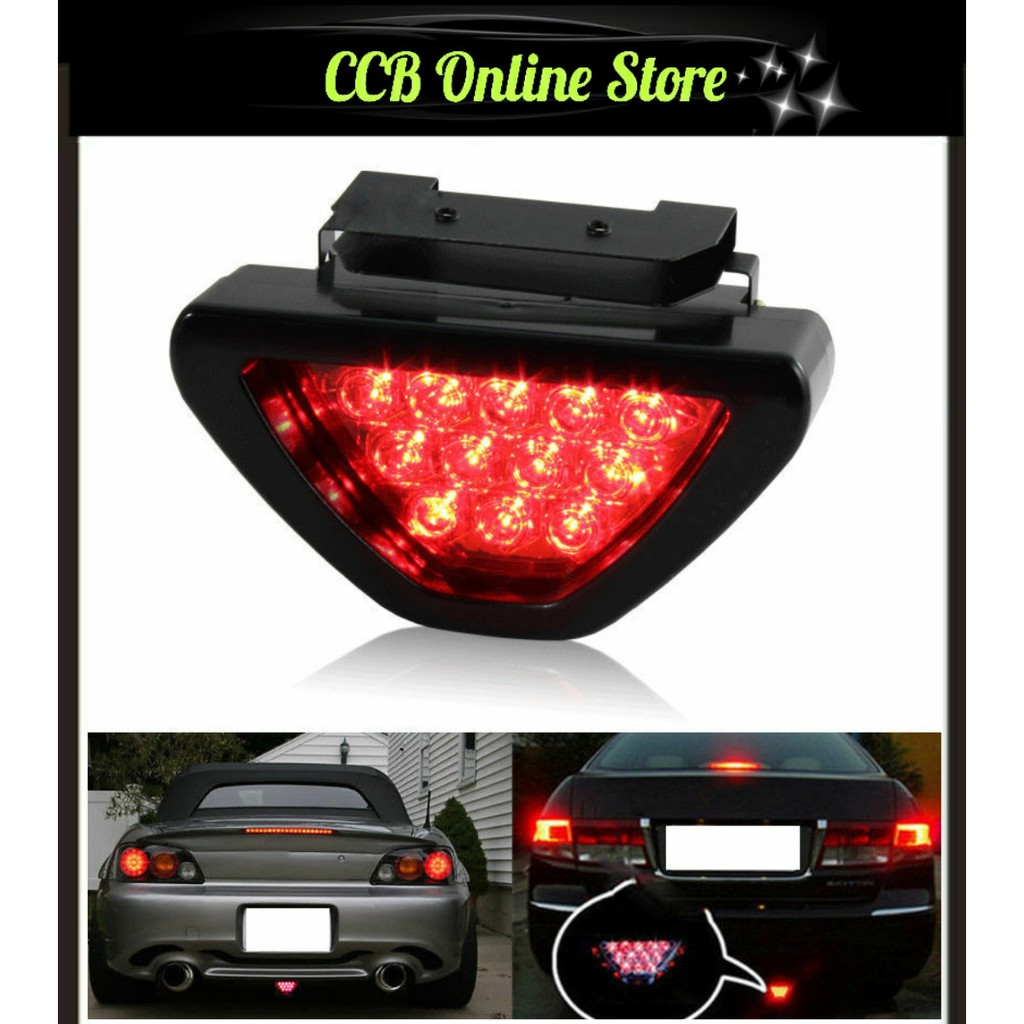 2pc Red 20 LED Chrome Shell Motorcycle Stop Brake//Running//Turn Signal//Tail Light