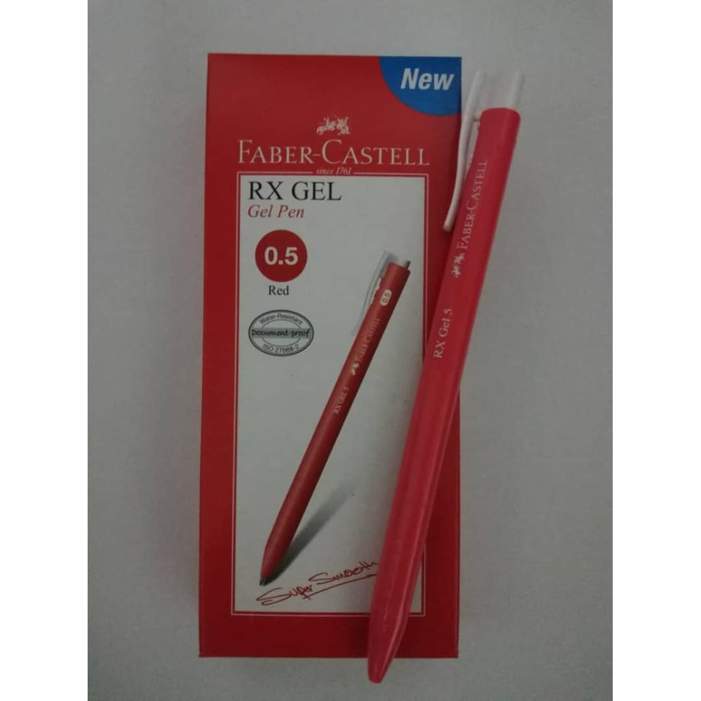 Faber Castell RX Gel Pen 0.5mm 10pcs